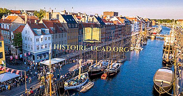Dānijas salas pēc iedzīvotāju skaita