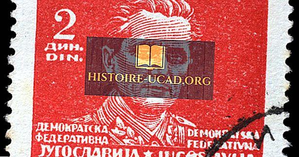 społeczeństwo - Josip Broz Tito z Jugosławii: słynne głowy państw