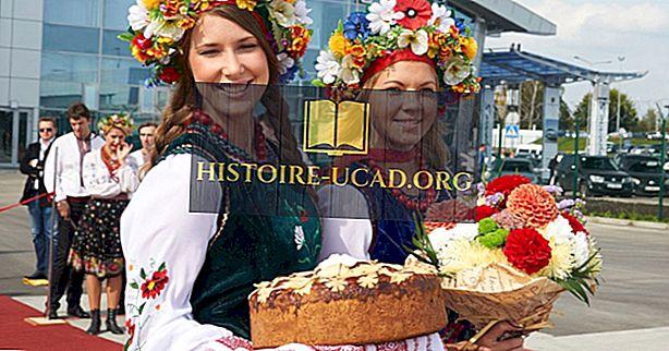 Wichtige ethnische Gruppen der Ukraine
