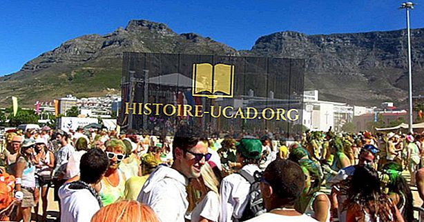 Основни религии в Южна Африка