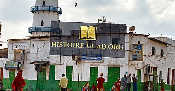 Главне религије које су се практиковале у Џибутију