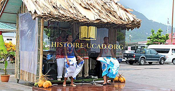 Etnické skupiny Seychel