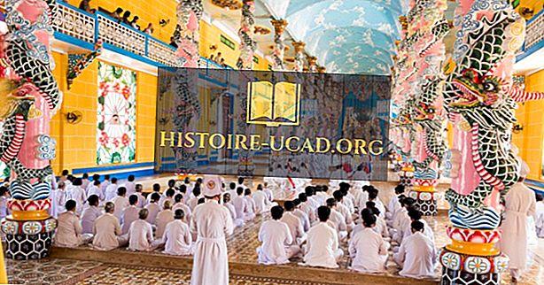 Caodaism (Dao Cao Dai) religiöse Überzeugungen