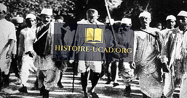 Националистическото движение в Индия и ролята на Махатма Ганди и ненасилие