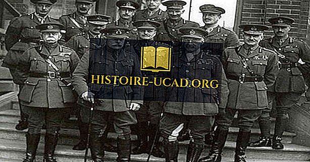 Wer führte das Vereinigte Königreich durch den Ersten Weltkrieg?