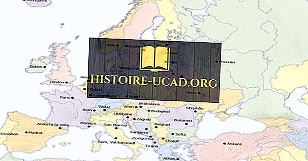 Nasjonale hovedstader i Europa