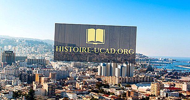 알제리에서 가장 큰 도시들