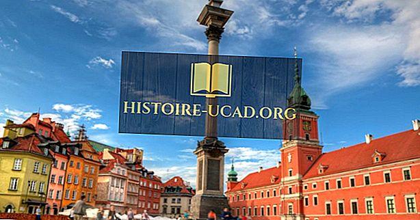 De største byene i Polen