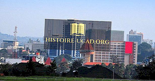 Največja mesta v Ugandi