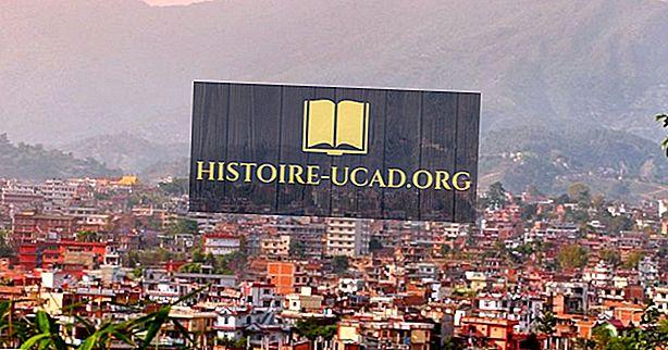 네팔에서 가장 큰 도시들
