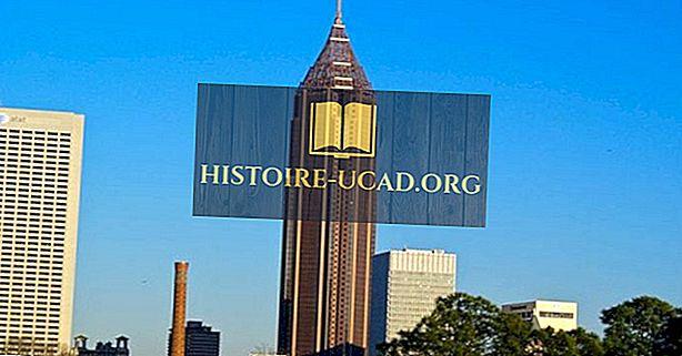 Najvyššie budovy v Atlante