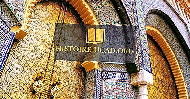 De største byer i Marokko