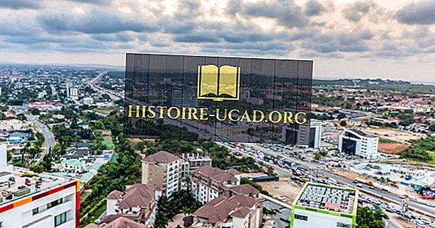 घाना में सबसे बड़े शहर