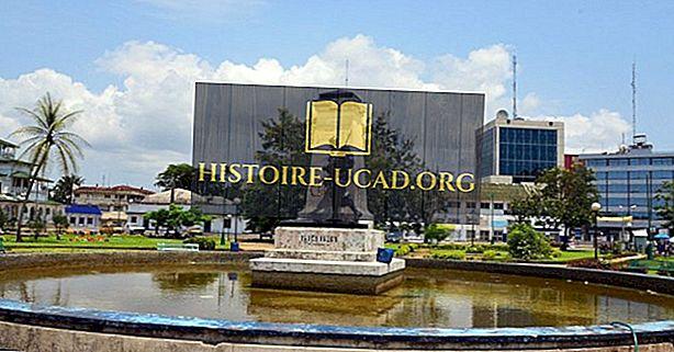 Největší města v Kamerunu