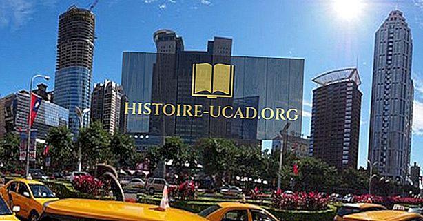 เมืองที่ใหญ่ที่สุดในไต้หวัน