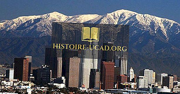 Didžiausi pastatai Los Andžele