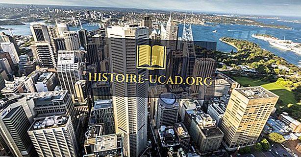 A legnagyobb városok Ausztráliában