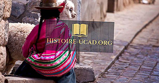 Principaux groupes ethniques du Pérou