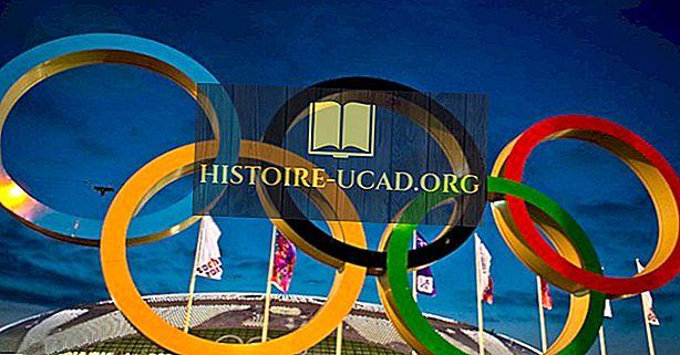 Какво представляват олимпийските пръстени?