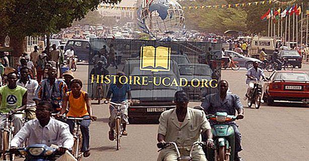Největší Města v Burkina Faso