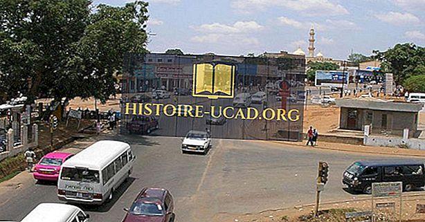Las ciudades más grandes en Malawi