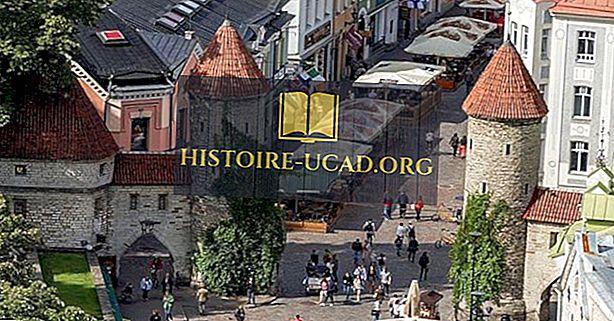 Ville historique de Tallinn, Estonie