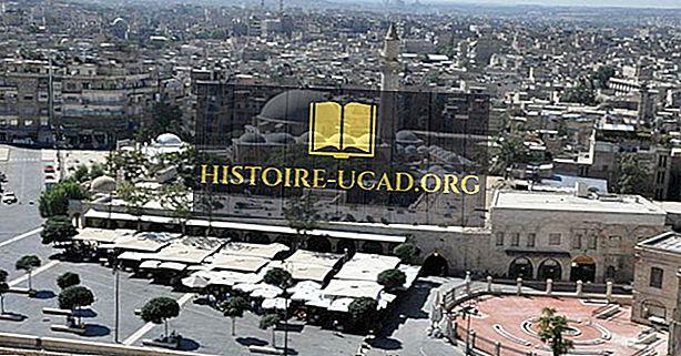 Самые большие города в Сирии