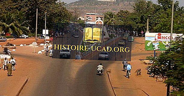 Най-големите градове в Мали