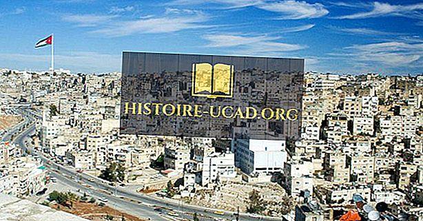 Kaj je prestolnica Jordanije?