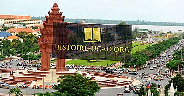 Največja mesta v Kambodži