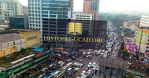 Qual é a capital do Bangladesh?