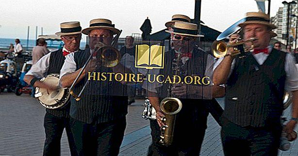 Od kod prihaja jazz glasba?