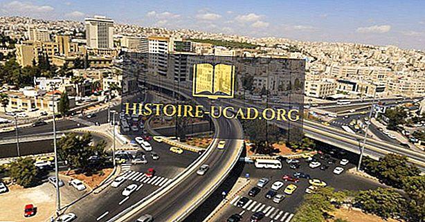 Самые большие города в Иордании