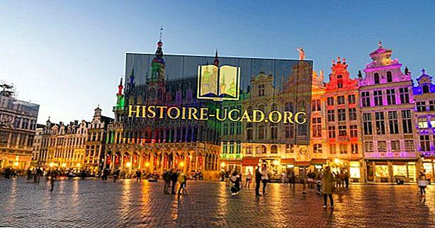 Najväčšie mestá v Belgicku