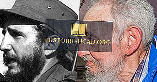Fidel Castro - líder revolucionário cubano