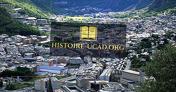 Najväčšie mestá v Andorre