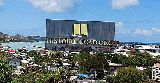 Největší města v Antigua a Barbuda