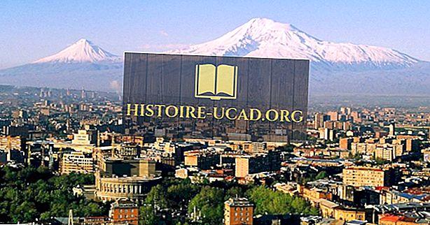 Lielākās pilsētas Armēnijā