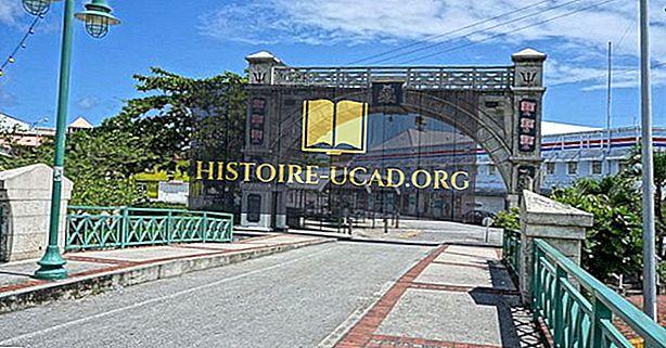 Največja mesta na Barbadosu