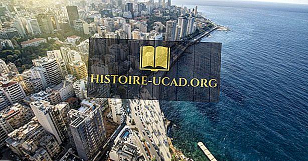 Les plus grandes villes du Liban