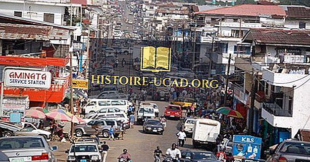 Największe Miasta w Liberii