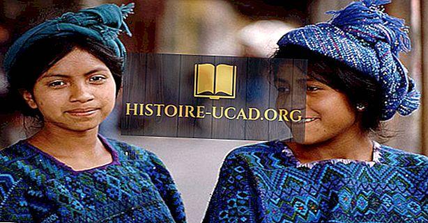 Groupes ethniques du Guatemala