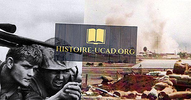 Principais batalhas da guerra do Vietnã