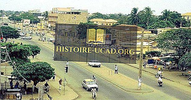 De største byer i Togo