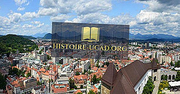 Največja mesta v Sloveniji