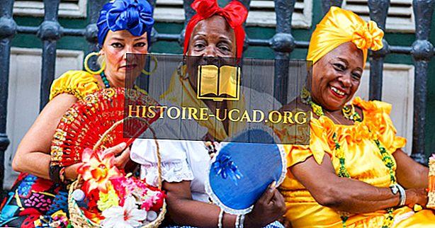 Pagrindinės etninės grupės Kuboje
