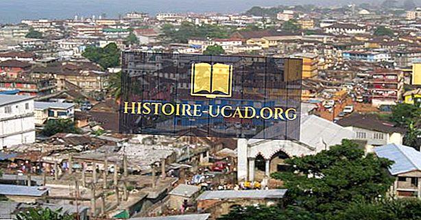 Didžiausi miestai Siera Leonėje