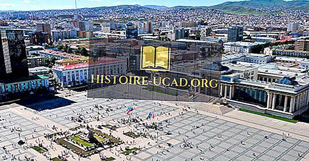 मंगोलिया में सबसे बड़े शहर