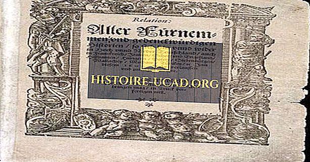 Najstarije novine objavljene u Europi