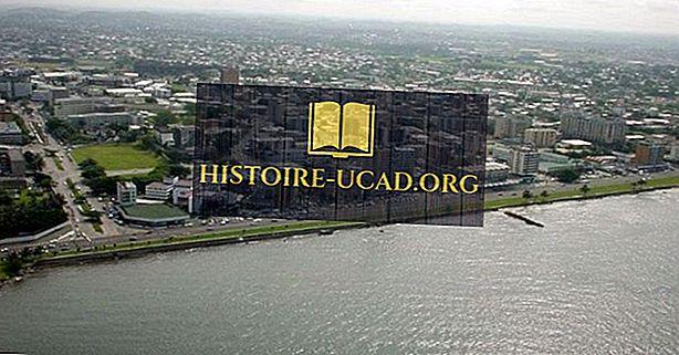 Suurimmat kaupungit Gabonissa